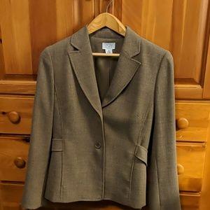 Ann Taylor loft neutral blazer jacket
